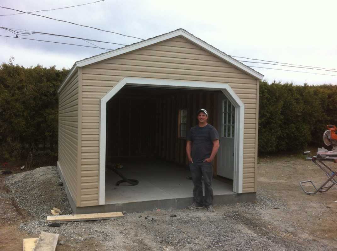 Ottawa garage construction team north country carpentry for Country carports